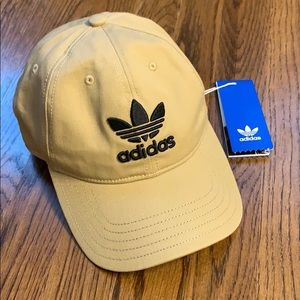 NWT - adidas khaki hat